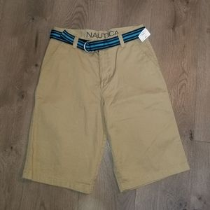 Boys Khaki Shorts Nautica new with tags size 18